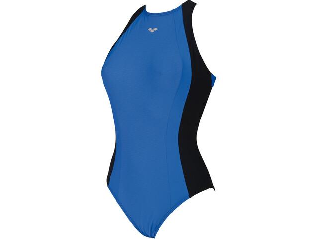 arena Agate Embrace Back Swimsuit Women blue/black